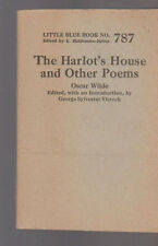 The Harlot's House and Other Poems by Oscar Wilde Little Blue Book 787 (1925)