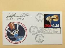 Flown and Signed STS-8 Cover Lot 217