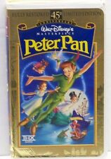 Walt Disney's Peter Pan  VHS  45th Anniversary Limited Edition