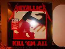 Metallica Kill 'Em All LP Album Vinyl MINT! (215) Factory Sealed!