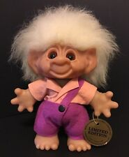 "Limited Edition Boy 9"" Thomas Dam Troll Doll - With Original Tag - Rare"