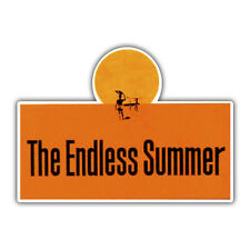 endless summer sticker 110 x 80mm surfing surf decal
