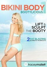 TRACEY MALLETT BIKINI BODY BOOTYLICIOUS EXERCISE WORKOUT DVD NEW SEALED