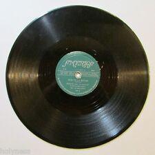 OSVALDO LEAL / HIJA DE LA NOCHE / CON LAGRIMAS DE SANGRE / 78 RPM RECORD