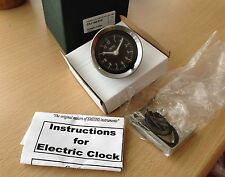 smiths 52 Mm black faced car clock mgb  ,mgb gt , midget etc BS3-2