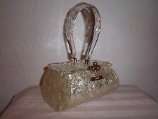 Purse Retro Rare Gold Tone Georgeous Handbag Miami Florida Eve Bag 40s 50s Era