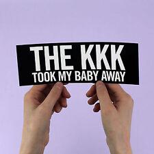 """The Ramones Sticker! """"KKK took my baby away"""", Joey Johnny Dee Dee, 1970s Punk"""
