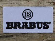 ECUSSON PATCH THERMOCOLLANT aufnaher toppa BRABUS automobile voiture course