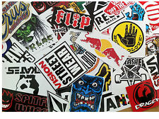 Stickerbomb x 10 sticker Pack snowboard skateboard surf energy drink autocollants