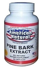 PINE BARK EXTRACT 60 CAPSULES 100mg BEST DEAL compare Pycnogenol French Maritime