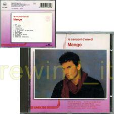 """MANGO """"LE CANZONI D'ORO DI MANGO"""" RARO CD 1990 LINEATRE"""