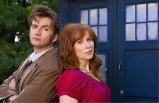 "Dr Doctor Who Imported 17"" X 11"" Print Poster - 10th Doctor & Donna Poster Print"