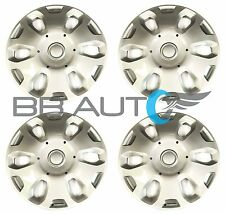"SET OF 4 NEW 2010-2013 FORD TRANSIT CONNECT VAN 15"" WHEEL COVERS HUBCAPS SILVER"