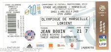 Billet  / Place  OM Olympique de Marseille - OM vs FC Lorient  ( 089 )
