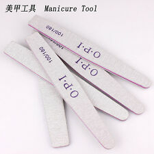 10Pcs Nail Sanding  Polish Files Buffer Block Manicure Pedicure Tips Tool Gel