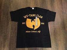 New Wu-Tang Clan Men's T-Shirt Size XL Staten Island New York WITH TAGS 1992