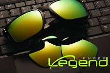 A51 Gold Mirror POLARIZED Replacement Legend Lenses For Oakley HOLBROOK