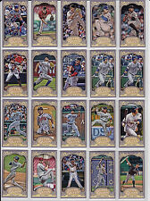 2012 Topps Gypsy Queen MINI LOT - YOU PICK 10 FROM LIST BELOW Complete Your Set