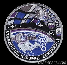 SPACEX CRS-8  SPX-8 NASA COMMERCIAL ISS RESUPPLY ORIGINAL AB Emblem SPACE PATCH