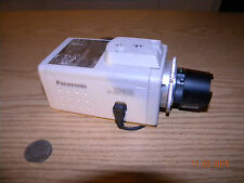 Panasonic CCTV Security Camera BP314 w/ Computar 12mm 1:1.4 Motorized Lens