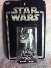 Star Wars Silver Saga Edition 2004 Sandtrooper Figure