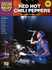 Drum Play-Along Red Hot Chili Peppers Play POP Rock DRUMS SET Music Book & CD