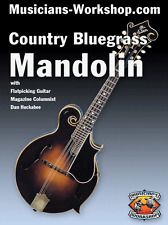 Learn Country Bluegrass Mandolin with Dan Huckabee DVD