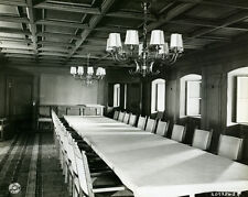 1945 MR Germany Hitlers Conference Room Berchtesgaden 8x10 Photo