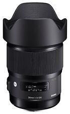 Sigma Nikon 20 mm 1:1,4 DG HSM (A) ART - Objektiv für alle Nikon DSLR **NEU**