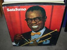 LOUIS ARMSTRONG satchmo musical autobiography ( jazz ) 4lp box set - booklet -