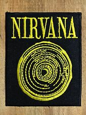 NIRVANA Embroidered Patch Iron On Sew Cool American grunge band ROCK MUSIC,