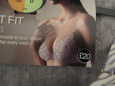 BNWT M&S PERFECT FIT T-SHIRT BRA 32D