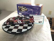 DALE EARNHARDT JR #8 2001 NASCAR BUDWEISER QVC RACE FANS ONLY COLOR CHROME 1/24