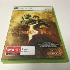 XBOX 360 GAME RESIDENT EVIL GOLD EDITION