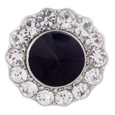 Button Click Druckknopf K8090 Ornament Kristall - kompatibel Chunk Armband