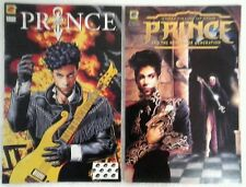 2 PRINCE COMIC BOOKS  ALTER EGO & THREE CHAINS OF GOLD 1st PRINTING VF/NM 1991&2