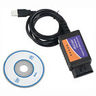 2016 ELM327 USB Interface OBDII OBD2 Diagnostic Auto Car Scanner Scan Tool Cable