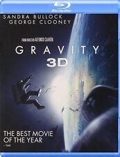 GRAVITY New Sealed Blu-ray 3D + Blu-ray Sandra Bullock George Clooney