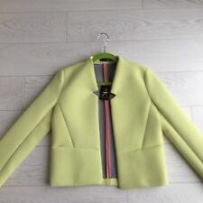 Lime Neoprene / Scuba Jacket 10