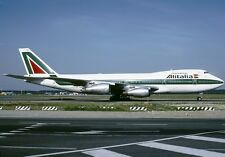 INFLIGHT200 IF7421116 1/200 ALITALIA BOEING 747-200 I-DEML WITH STAND
