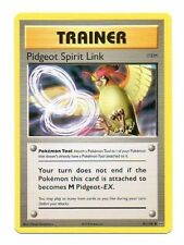 PIDGEOT SPIRIT LINK 81/108 EVOLUTIONS POKEMON TRAINER CARD