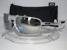 NEW OAKLEY POLARIZED BADMAN OO6020-05 X Ti / Chrome Iridium Polarized X-METAL