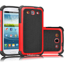 Hybrid Rugged Rubber Shockproof Hard Cover Case Skin For Samsung Galaxy S3 i9300