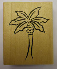 Palm Tree Rubber Stamp - DeNami