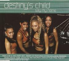 DESTINY'S CHILD - Say My Name (UK 3 Tk CD Single Pt 2/No Poster)