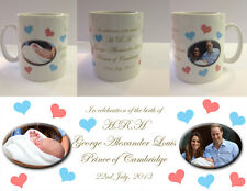 HRH PRINCE GEORGE ALEXANDER LOUIS - ROYAL BABY MUG CUP - WILLIAM KATE (No.2)