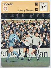 Sportscaster Card Editions Rencontre Johnny Haynes Fulham England