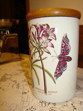 VTG Portmeirion The Botanic Garden Circa 1818  Canisters With LilIES & MOTHS