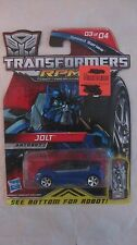 Transformers Jolt RPMs Speed Series Blue 1:64 Scale Car From Hasbro 2009  dc1179