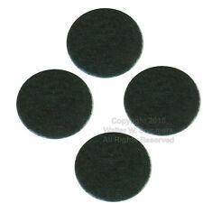 Victor Victrola Phonograph Cabinet Dark Green Felt Bumper Pads for Lid Set of 4